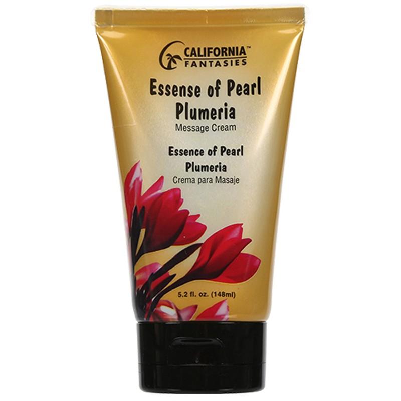 Essence of Pearl Massage Cream 5.2oz tube - Plumeria