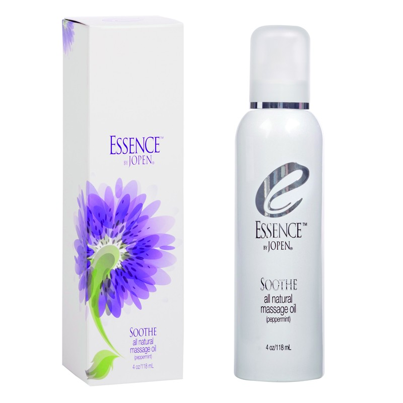 Essence Soothe All Natural Massage Oil Peppermint 4oz