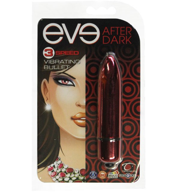 Eve After Dark Vibrating Bullet (Red)