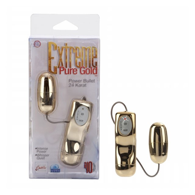 Extreme Pure Gold™ Power Bullet - 24 Karat