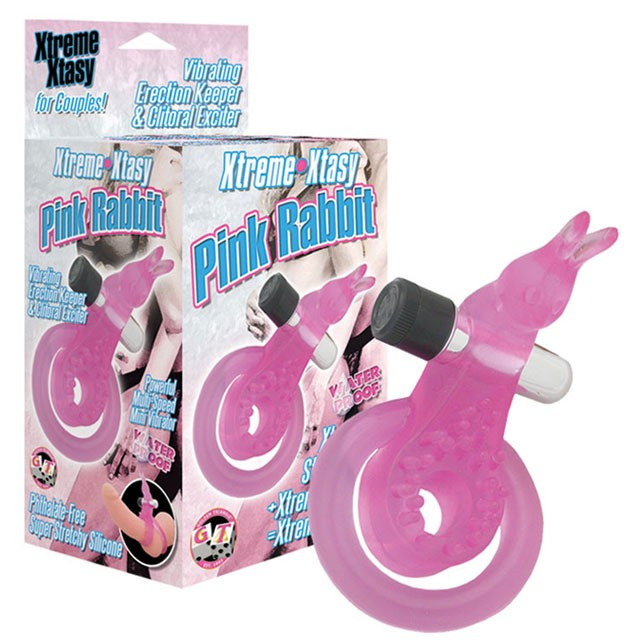 Extreme Xtasy Ring Rabbit (Pink)