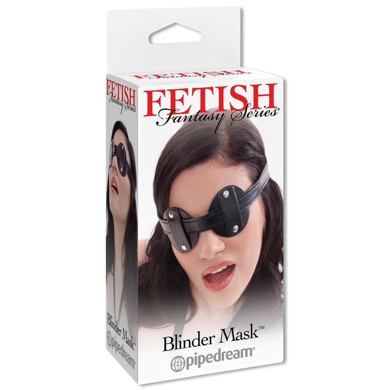 Fetish Fantasy Blinder Mask Black