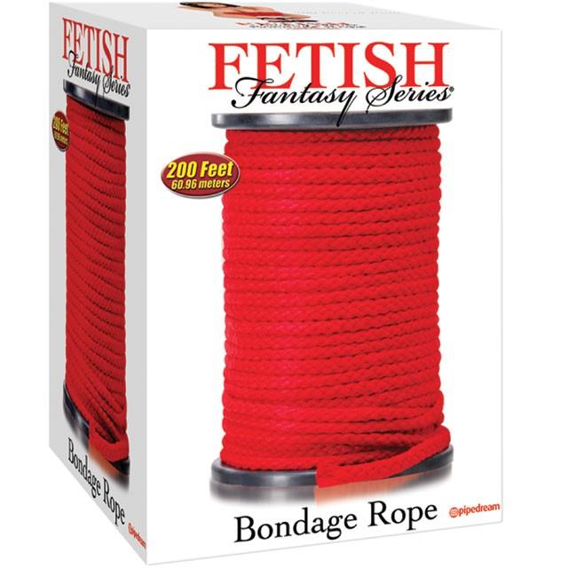 Fetish Fantasy Bondage Rope Red