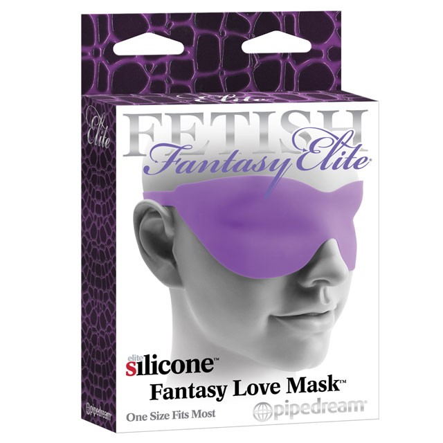 Fetish Fantasy Elite Fantasy Love Mask Purple