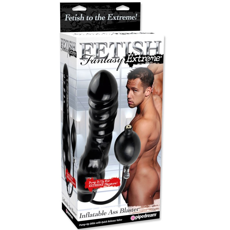 Fetish Fantasy Extreme Inflatable Ass Blaster Black