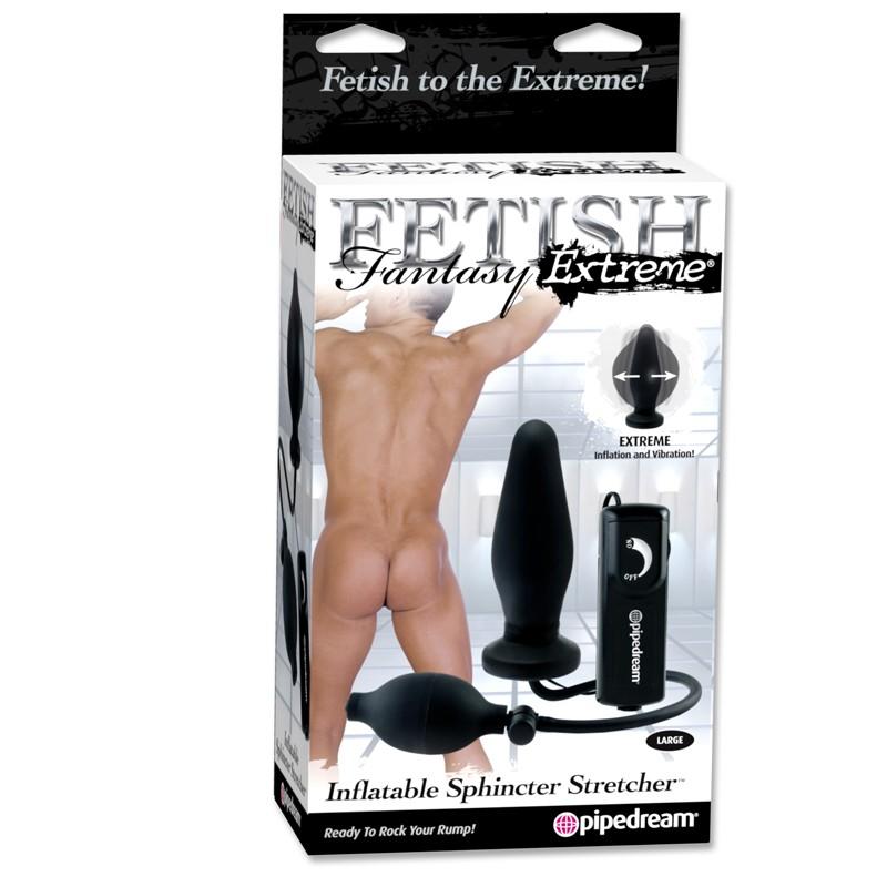 Fetish Fantasy Extreme Inflatable Sphincter Stretcher Black