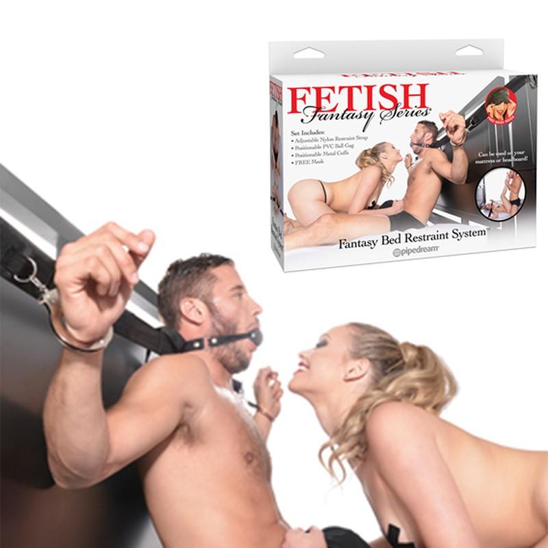 Fetish Fantasy Fantasy Bed Retraint System