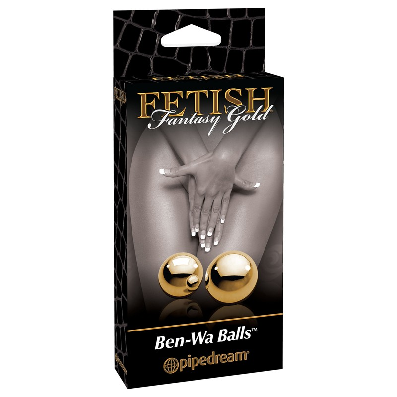 Fetish Fantasy Gold - Ben Wa Balls