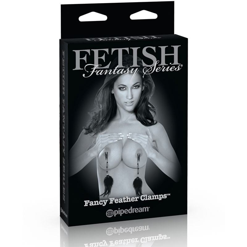 Fetish Fantasy Limited Edition  - Fancy Feather Clamps