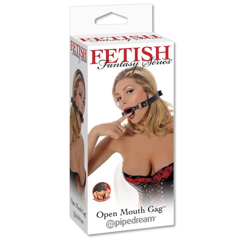 Fetish Fantasy Open Mouth Gag
