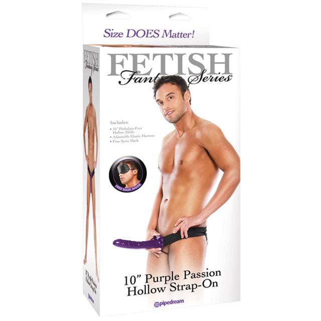 Fetish Fantasy Purple Passion Hollow Strap-On