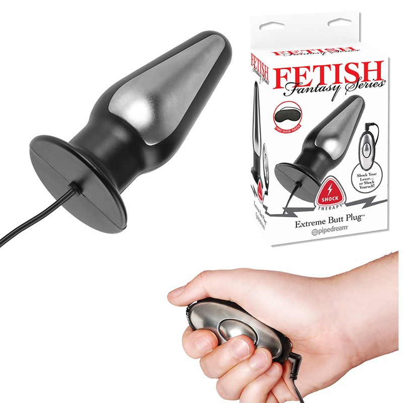Fetish Fantasy Shock Therapy Extreme Butt Plug