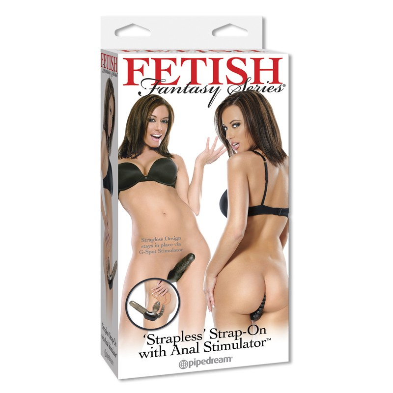 Fetish Fantasy Strapless Strap-On with Anal Stimulator