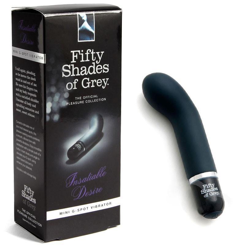 Fifty Shades G-Spot Vibrator - Insatiable Desire vibe product shot