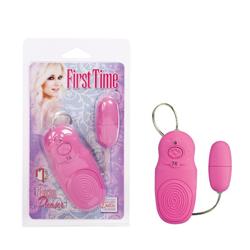 First Time 7-Function Pleaser - Pink