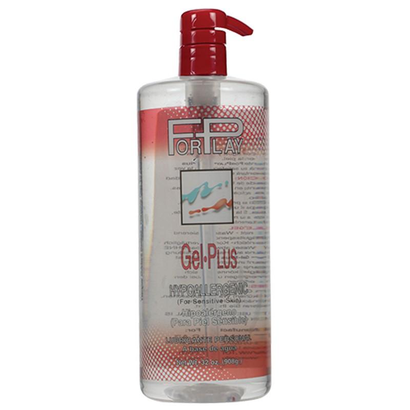 ForPlay Gel Plus (Red) 32 oz Pump Bottle