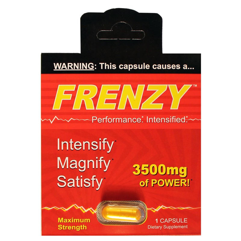 Frenzy 1pk Male Performance Pill