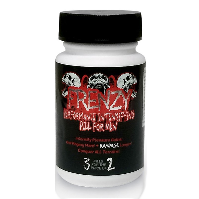 Frenzy Male Enhancement Pill 3ct Bottle