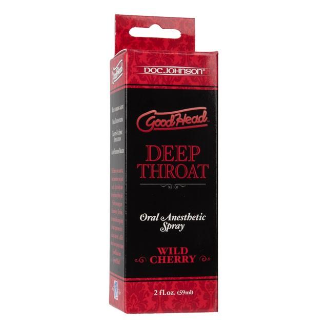 GoodHead - Deep Throat Spray - Wild Cherry