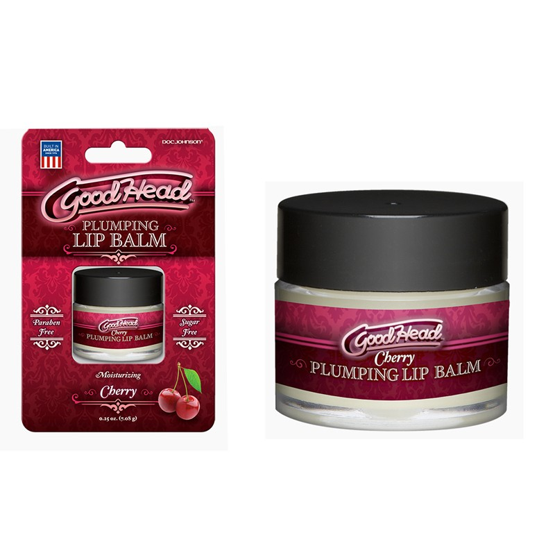 GoodHead - Plumping Lip Balm - .25oz Cherry