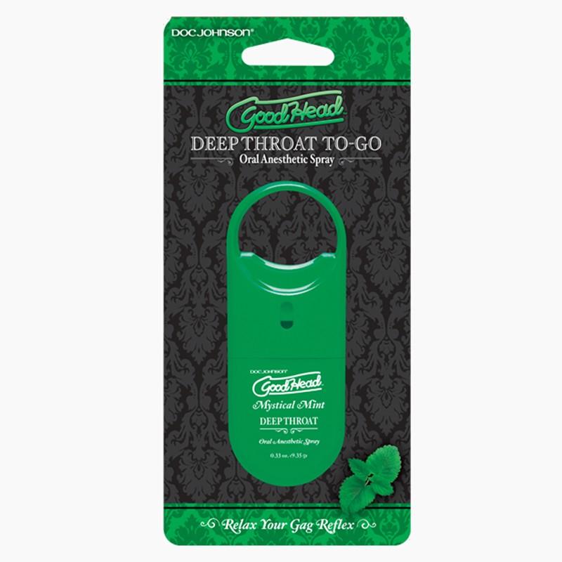 Goodhead to Go - Deep Throat Spray .33oz. Mystical Mint