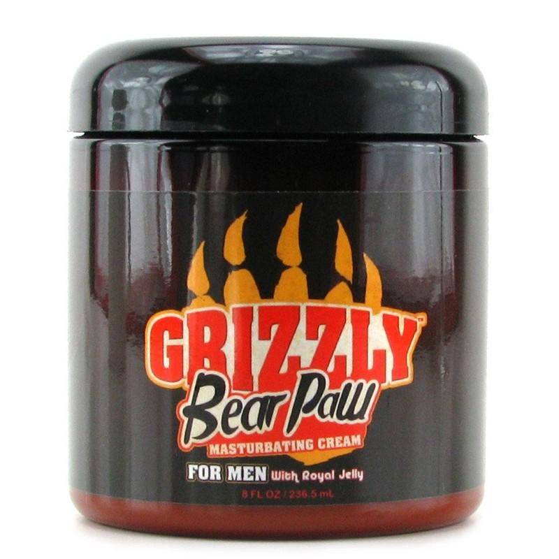 Grizzly Bear Paw Masturbating Cream 8 fl oz