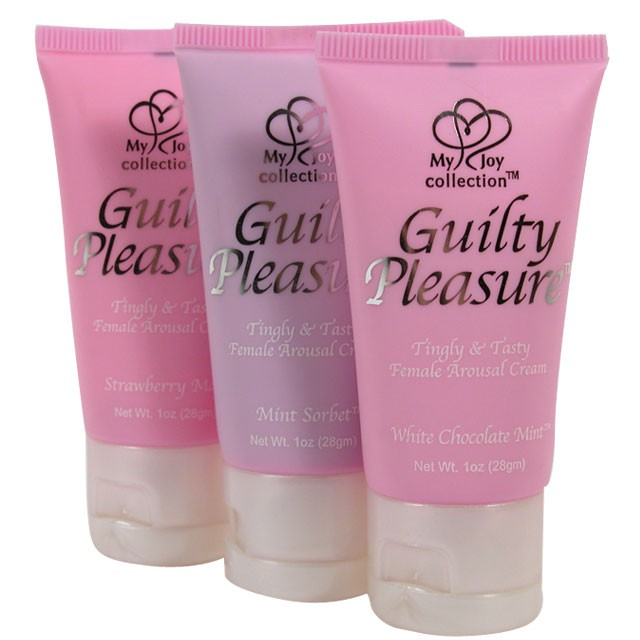 Guilty Pleasure Female Arousal Cream White Chocolate Mint 1oz