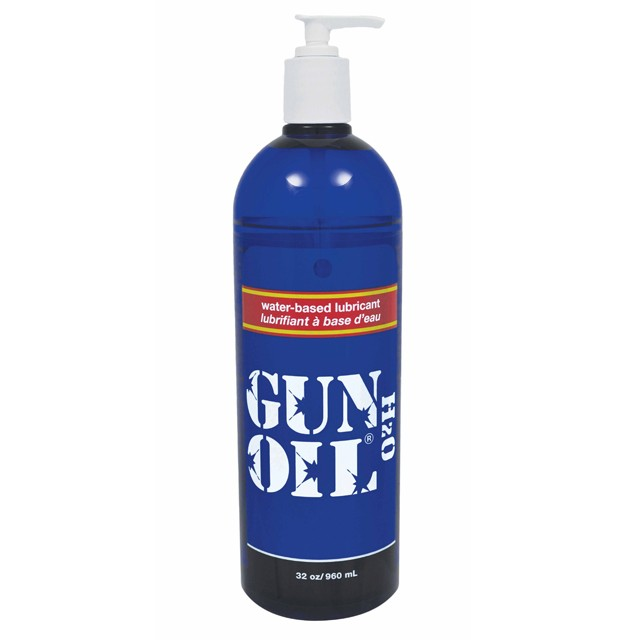 Gun Oil H2O 32oz Water Based Lubricant