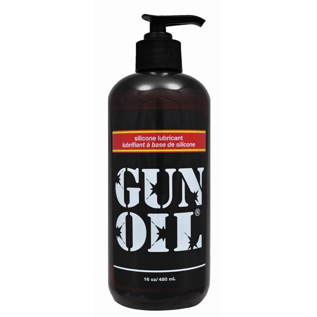 Gun Oil Silicone Lubricant 16oz