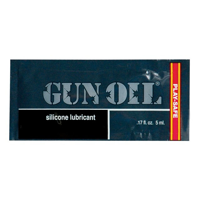 Gun Oil Silicone Lubricant (Bag  of 50 Samples)