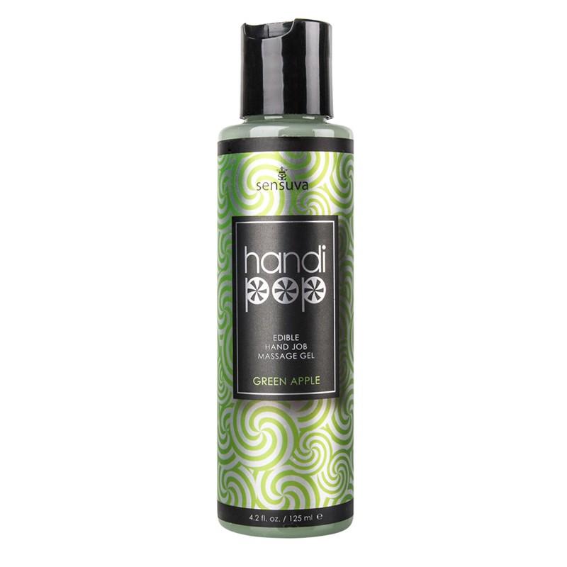 Handipop Edible Handjob Massage Gel Green Apple 4.2oz