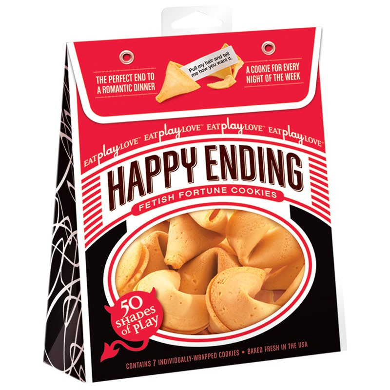 Happy Ending Fortune Cookies- 50 Shades