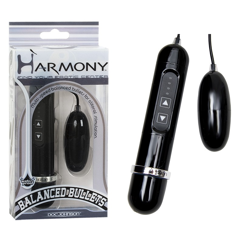 Harmony Balanced Bullets Yin (Black)