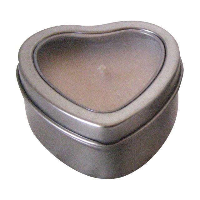 Hearts Massage Candle Tropical Rain 2oz