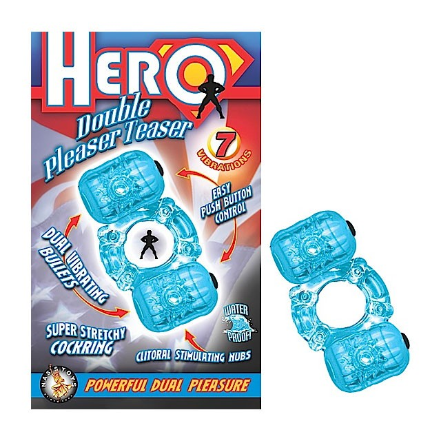 Hero Double Pleaser Teaser (Blue)