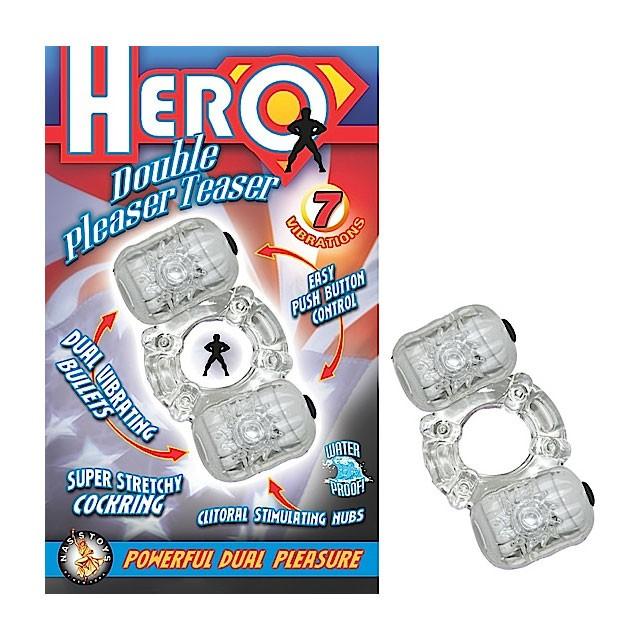 Hero Double Pleaser Teaser (Clear)