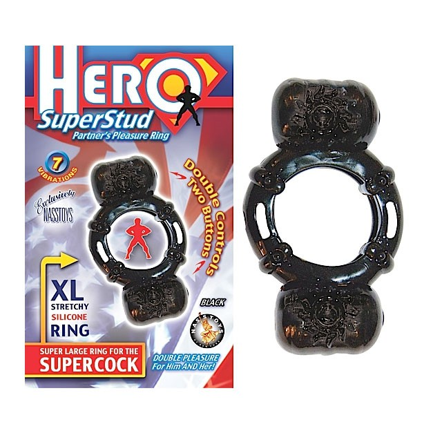 Hero Superstud Partners Ring (Black)