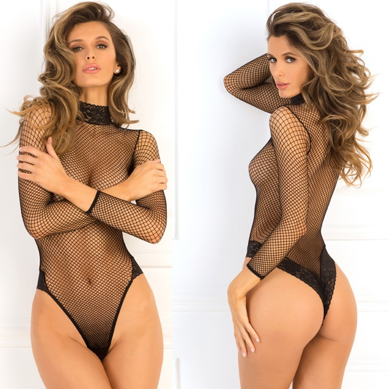 High Demand Bodysuit Black S/M