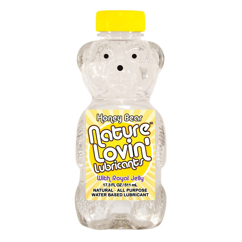 Honey Bear Natural Lubricant 17.3 fl oz