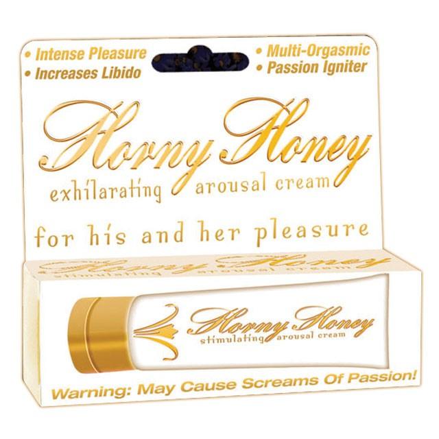 Horny Honey Stimulating Cream (1oz.)