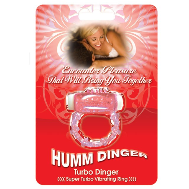 Hummdinger Turbo Cock Ring (Purple)