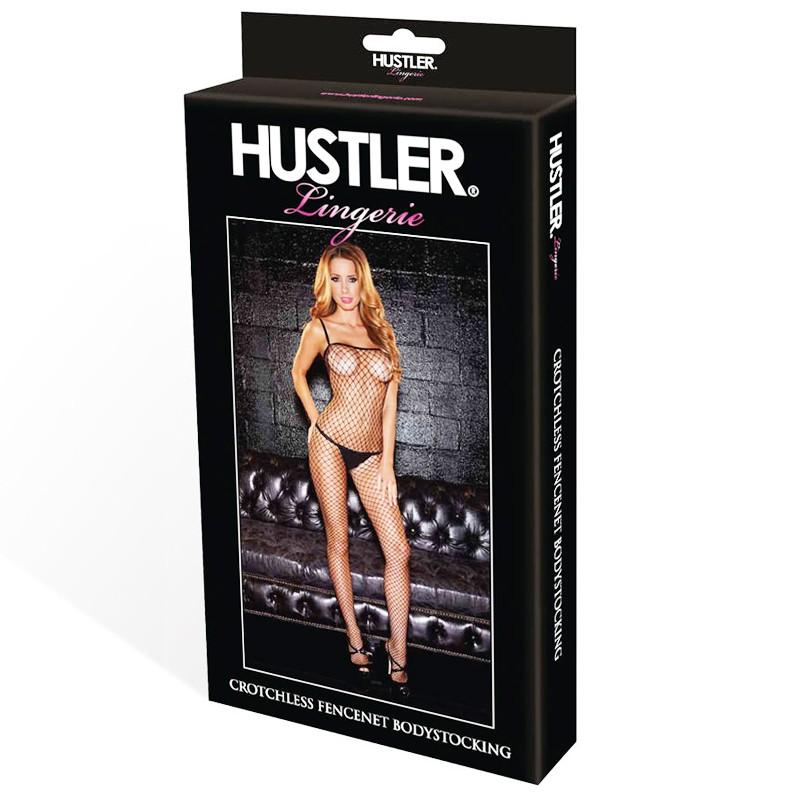 Hustler Crotchless Fencenet Bodystocking