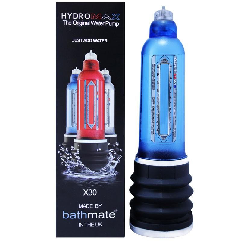 Hydromax X30 Penis Enlarger Aqua Blue