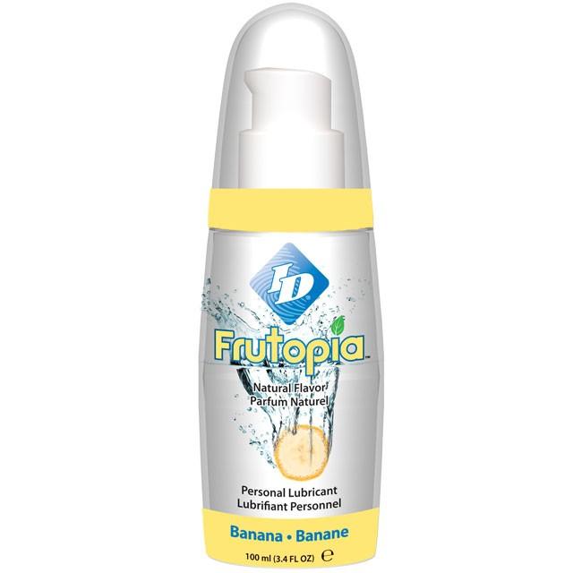 ID Frutopia Banana Flavored Lubricant 3.4 fl oz