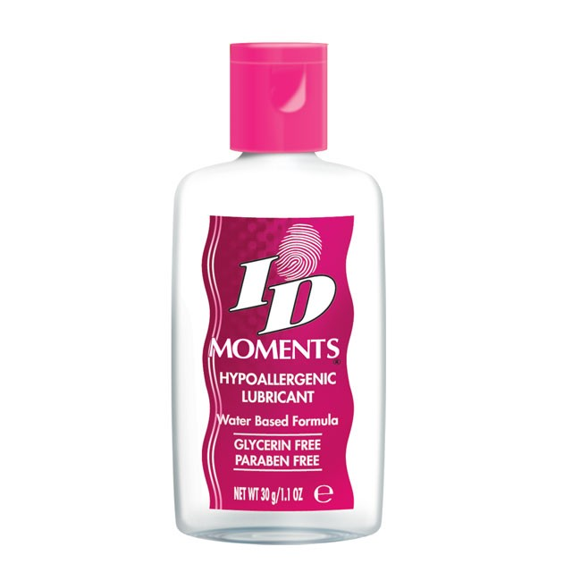 ID Moments Water Based Lubricant 1 fl oz Disc Cap Bottle
