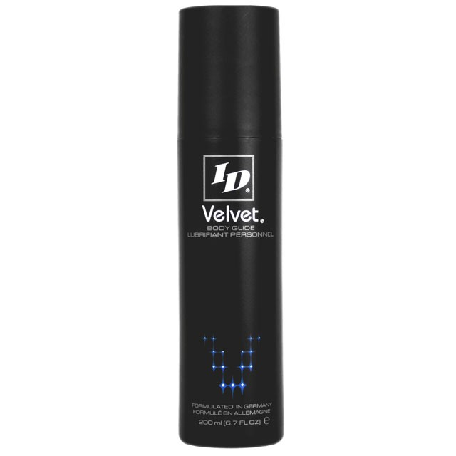 ID Velvet Silicone Lubricant 200 ml (6.7 fl oz)