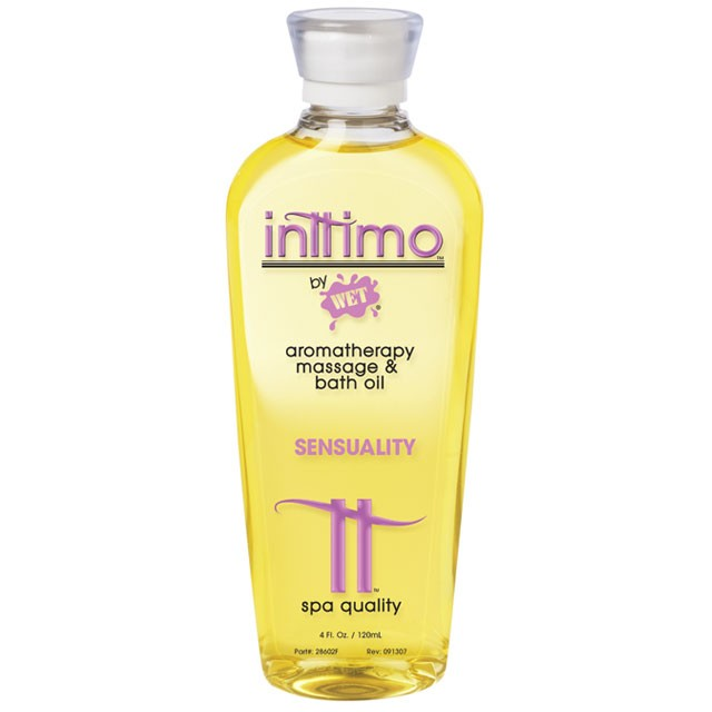 Inttimo by Wet Massage Oil Sensuality 4 fl. oz/120ml