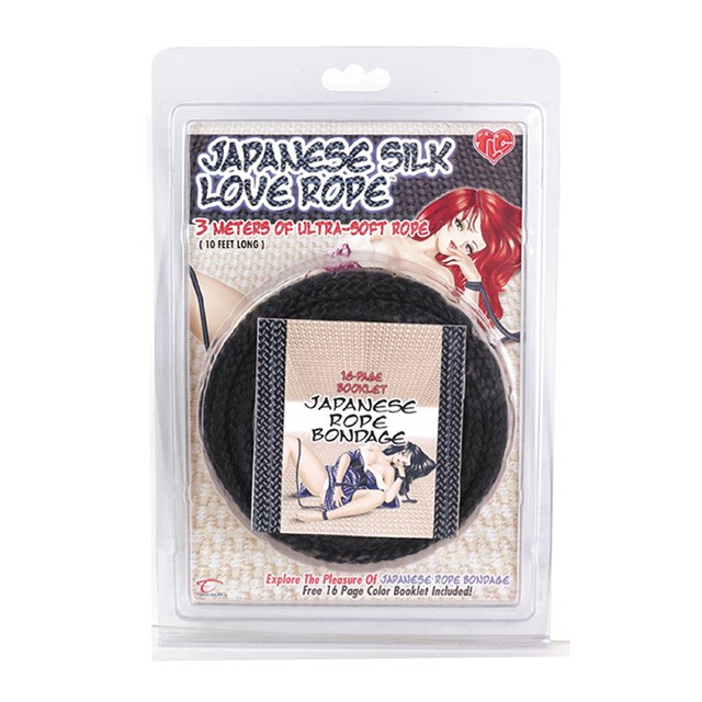Jap. Love Rope 3m/10ft (Black)