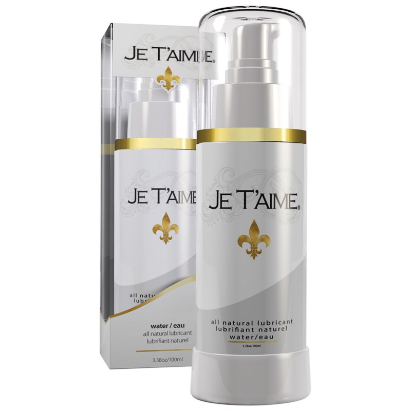 Je Taime All Natural Water Based Lubricant 100ml
