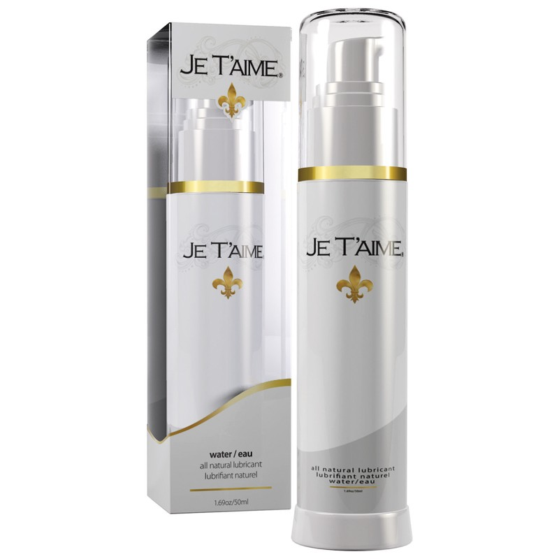 Je Taime All Natural Water Based Lubricant 50ml